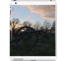 Silent Guns At Manassas iPad Case/Skin
