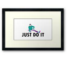 Just Do It Shia Labeouf Framed Print