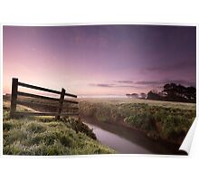 Dawn on the Moors Poster