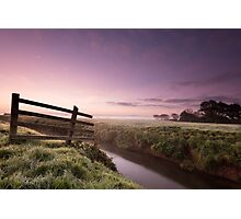 Dawn on the Moors Photographic Print