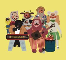 Rockafire- Showbiz Pizza Characters Kids Clothes