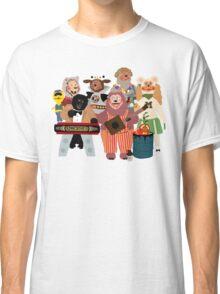 Rockafire- Showbiz Pizza Characters Classic T-Shirt