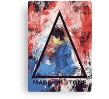 made of stone Canvas Print