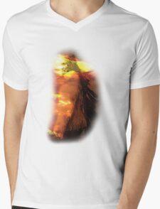 Geronimo (Chiricahua Apache) Mens V-Neck T-Shirt