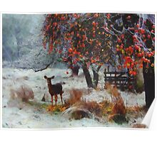 One Early Winter Morning Poster