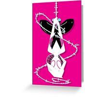 Spider Gwen Greeting Card