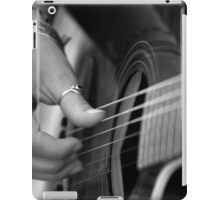 Guitar Strumming iPad Case/Skin