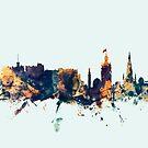 Edinburgh Scotland Skyline by Michael Tompsett