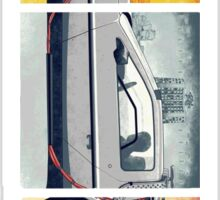 Back To The Future - DeLorean Sticker