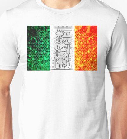 circuit board ireland(Flag) Unisex T-Shirt