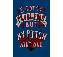 Perfect Pitch Photographic Print