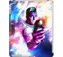 Color jump, James T Kirk iPad Case/Skin