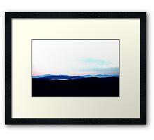 Landscape, Scotland Framed Print