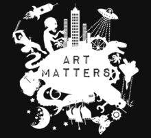 Art Matters (Light) Kids Tee