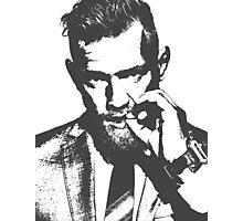 Conor McGregor Irish UFC Legend - B/W  Photographic Print