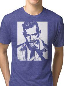 Conor McGregor Irish UFC Legend - B/W  Tri-blend T-Shirt