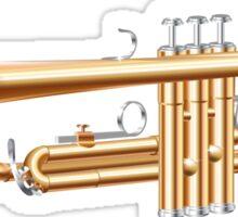 The Trumpet Sticker