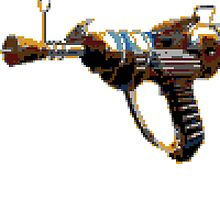 Pixel Art Raygun by thezzo