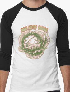 cabbage. Men's Baseball ¾ T-Shirt