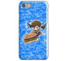 Castiel Burger phonecase iPhone Case/Skin