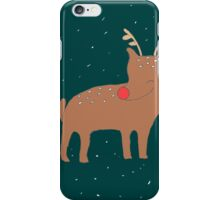 The Red-Nosed Reindeer iPhone Case/Skin