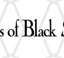 Hearts of Black Science Octagon Logo Sticker