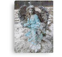 Angel of the Bell's Artistic Photograph by Shannon Sears Canvas Print