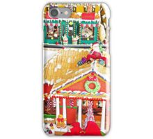 Gingerbread Village Study 1  iPhone Case/Skin