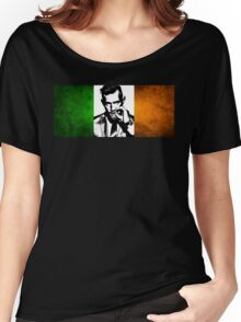 Conor McGregor Irish Flag Women's Relaxed Fit T-Shirt