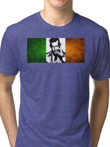 Conor McGregor Irish Flag Tri-blend T-Shirt