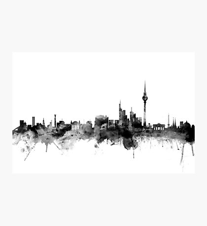 Berlin Germany Skyline Photographic Print