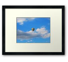 Hot Air Balloon Ride II Framed Print