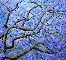 Majestic Jacaranda by Wendy Sinclair