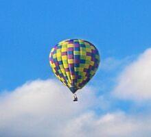 Hot Air Balloon Ride II Sticker