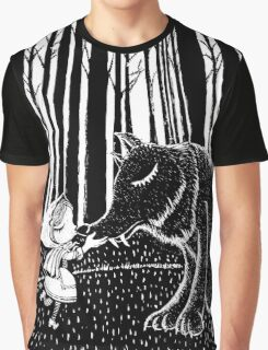 Little Riding Hood Graphic T-Shirt