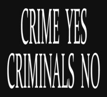 CRIME YES CRIMINALS NO (the simpsons) by Ritchie 1