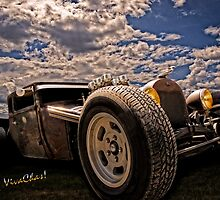 Lowbrow Rat Rod - How Low Can U Go Babe by ChasSinklier