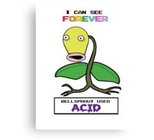Bellsprout used Acid Canvas Print
