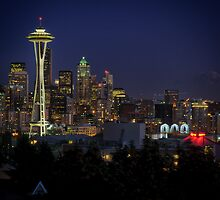 The Emerald City - Seattle, WA by Dana Horne
