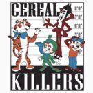 Cereal Killers Nerd Universitee T-Shirt by NerdUniversitee