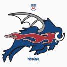 Wild Buffalo Bill Wings by Summo13