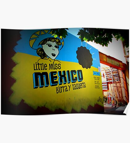 Little Miss Mexico Dos Poster
