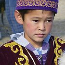 Kazak Boy by John Douglas