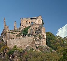 Kuenringer Castle Ruins by phil decocco