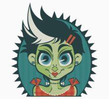 Frankenstein's Monster Girl by Lindsay Small-Butera