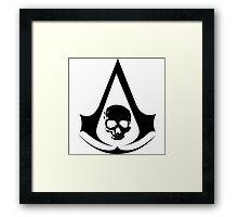 Assassins Creed Skull Insignia Framed Print