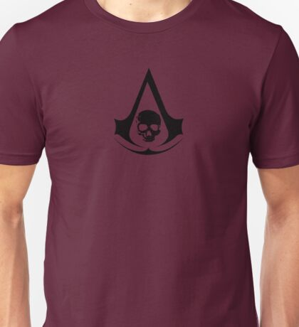 Assassins Creed Skull Insignia Unisex T-Shirt