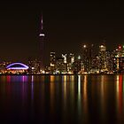Toronto Night by Susan Drysdale