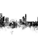 Birmingham England Skyline by Michael Tompsett