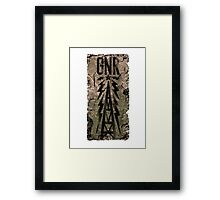 Galaxy News Radio Framed Print